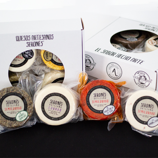 comprar quesos artesanos online de forma facil y rapida, packs de productos gourmet y tarros de quesos